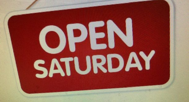 NOW OPEN ON SATURDAYS IN ST ALBANS